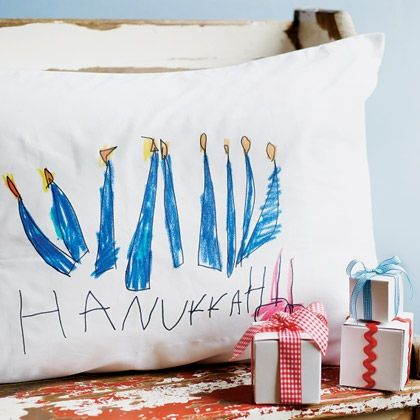 Find hundreds of Disney-inspired art and craft ideas for kids of all ages including holiday and seasonal crafts decorations and more. & Hanukkah pillowcases. Kids craft--could have kids draw directly on ... pillowsntoast.com
