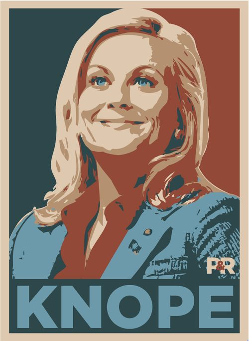 The script of Parks and Recreation gives a support to strong female leads such as the show's main character, Leslie Knope, who in one season runs for city council. http://www.about-face.org/nbcs-parks-and-recreation-promotes-feminism-for-everyone/#.UW-SrrQ1AzU