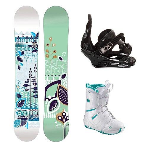 Salomon snowboard package. Ideal snowboard. $467.94