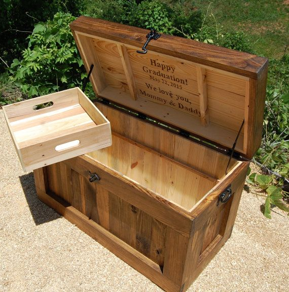 how to build a wooden chest bench