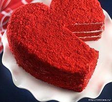 Нереальный торт ко Дню Святого Валентина .