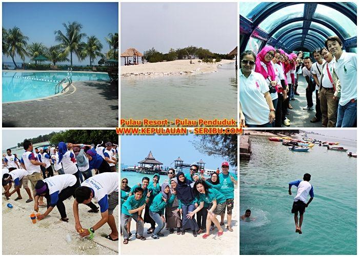 Pulau Resort Island And Pulau Resident Island