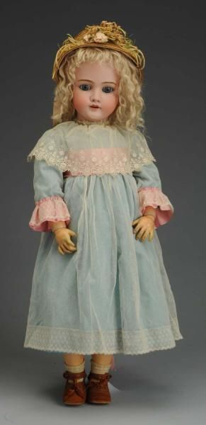 Lot # : 6 - Classic German Bisque K & H Child Doll.