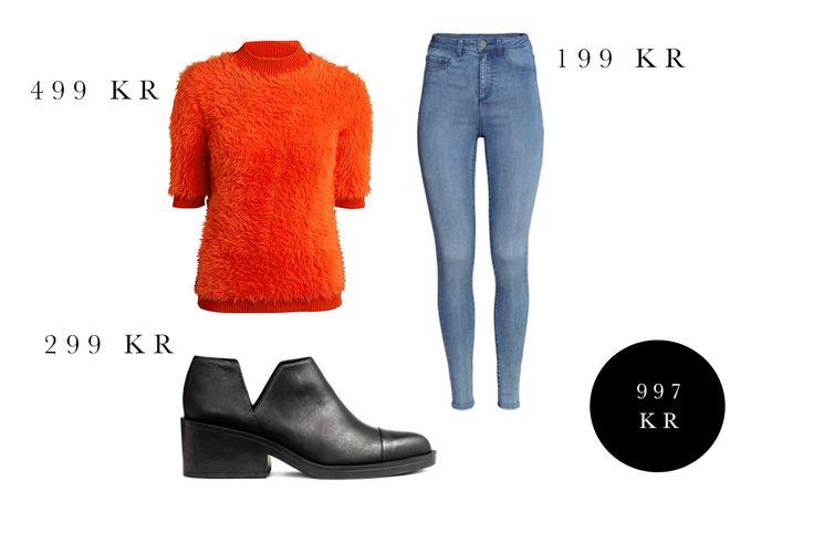 Budgetmode / Budgetfashion. Det bästa från butikerna just nu och varje outfit är under en tusenlapp. Läs mer och hitta inköpsställe på www.fridagsvensson.se