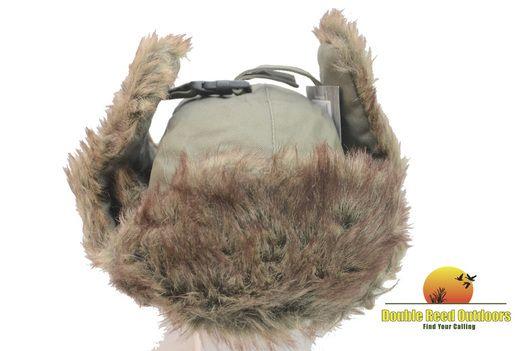 Fierce Products, Duck Commander OD Green Bomber Hat, Winter Weather