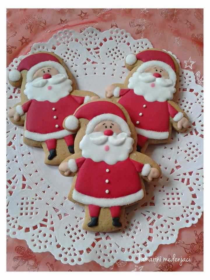 Santa cookies | Cookie Connection