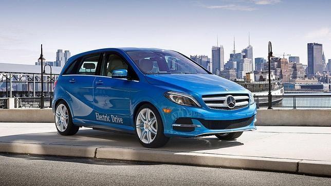 Mercedes-Benz Clase B Electric Drive, el año que viene