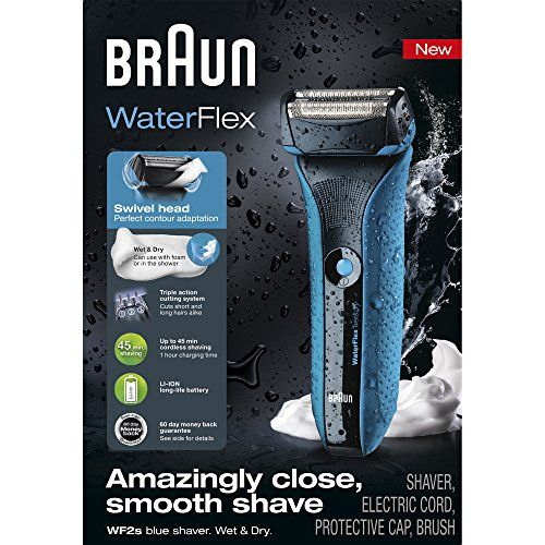 Special Offers - Braun Waterflex Wet and Dry Shaver Blue - In stock & Free Shipping. You can save more money! Check It (May 30 2016 at 11:37PM) >> http://electrictoothbrushob.net/braun-waterflex-wet-and-dry-shaver-blue/