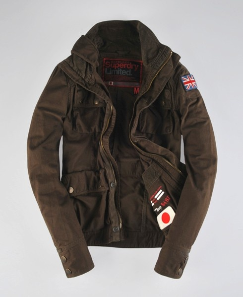 Superdry Engineering Jacket