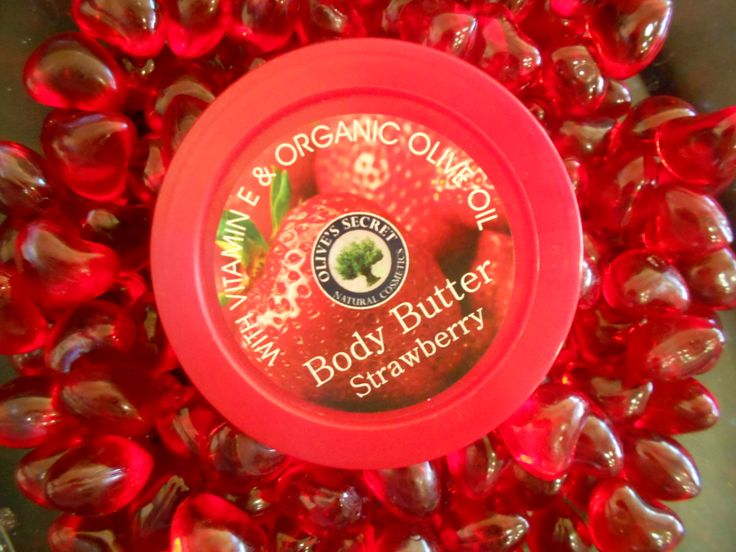 Bubbly Strawberry Body Butter for Kretanet