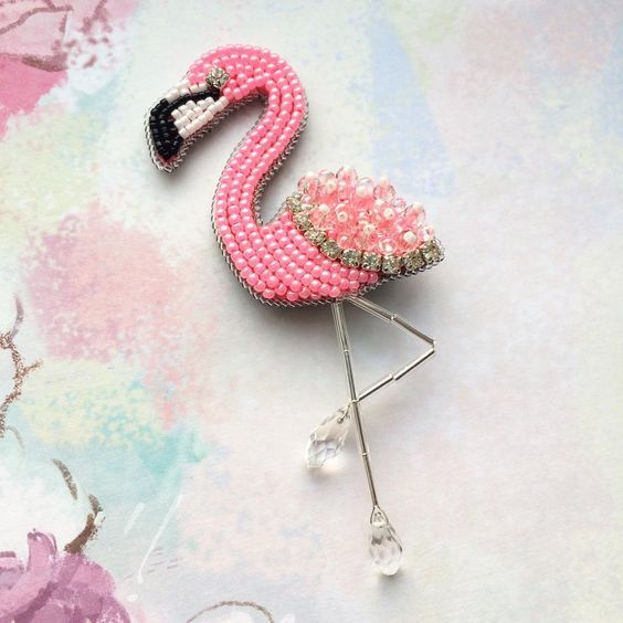 Aplique Flamingo