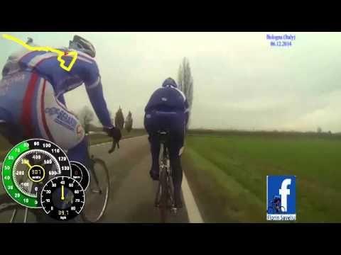 Complete Training - MTB Bike Camera on Road