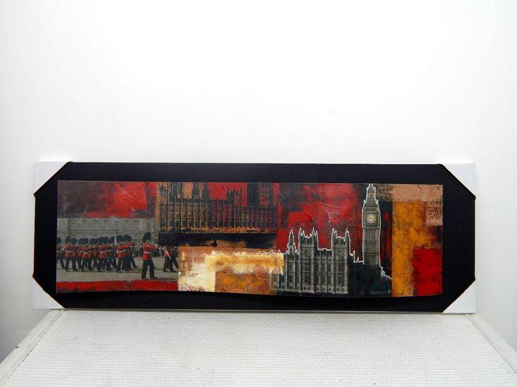 quadro in legno, , industrial chic, arredamento moderno