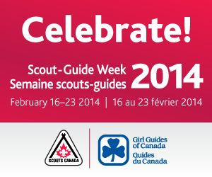 Scouts across Canada — girls, boys, teens, young adults, 5 to 26 — join Girl Guides of Canada along with Scouts and Guides around the globe to celebrate the Feb. 22 birth dates of Lord Robert Baden Powell, founder of the worldwide Scouting movement and first Chief Scout, and his wife Lady Olave Baden Powell, first Chief Guide. In Canada, Scout-Guide Week is a week-long celebration of special events with proclamations by elected officials and our flags flown at public buildings coast to…