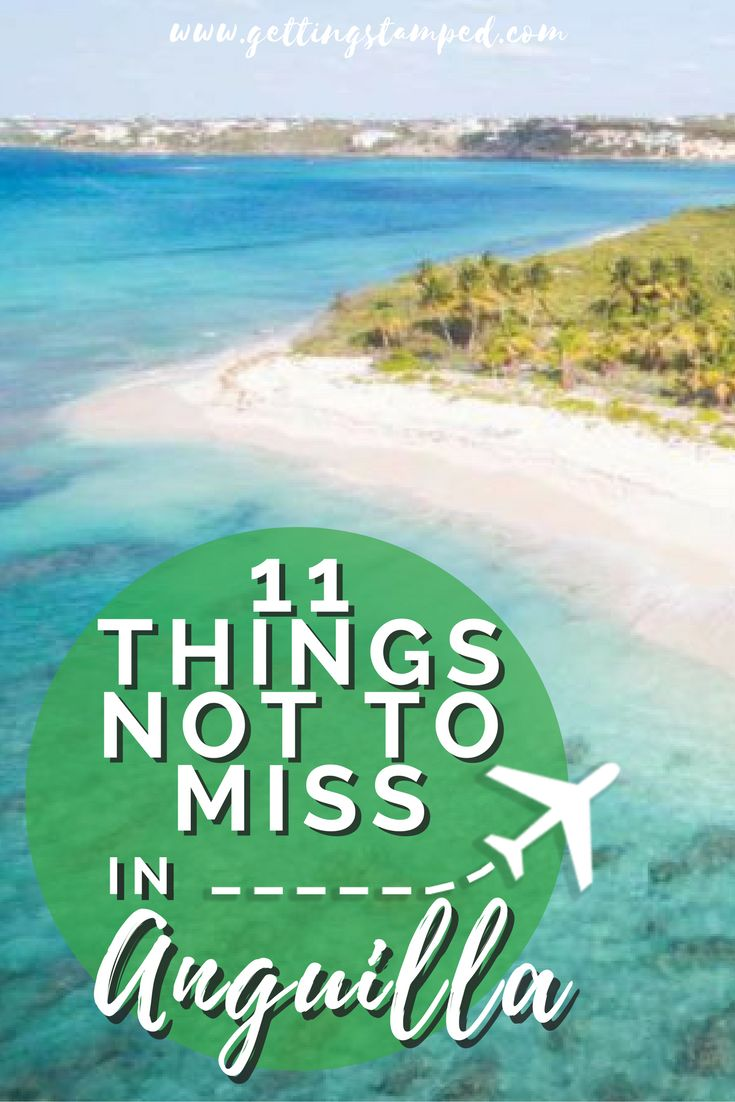 #Anguilla may be a small #Caribbean island but don't let its size fool you. There are a ton of things to do in Anguilla and it's the perfect place for a Caribbean vacation. Try and do as many of our suggested things to do in Anguilla and you're guaranteed to have an unforgettable time || Getting Stamped - Couple #Travel & #Photography #Blog