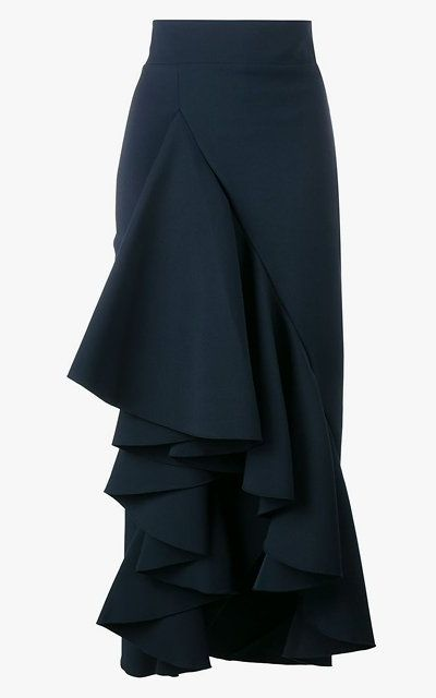 Awake ruffled maxi skirt, $715.