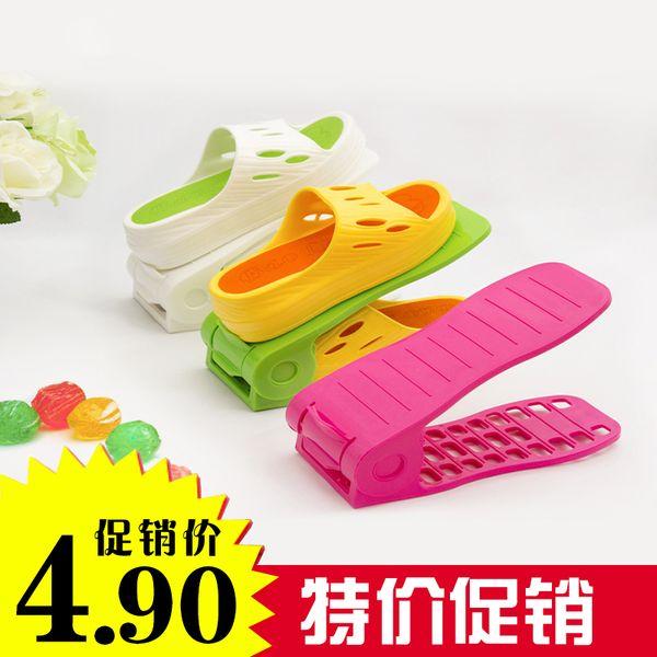 Женская обувь обувь хранения стойку хранения стойку двухъярусной мужской организовывать полки мужчин и женщин для обуви 1 упаковка