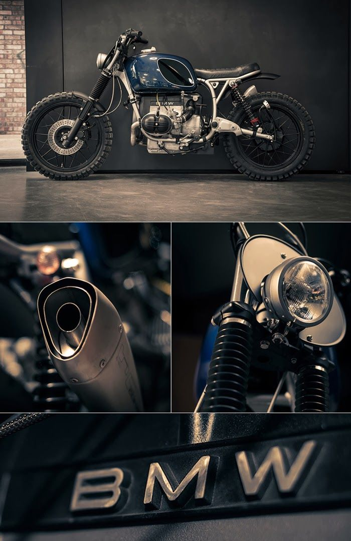 "1977 BMW R60/7 ""Macchiato"" by ER Motorcycles"