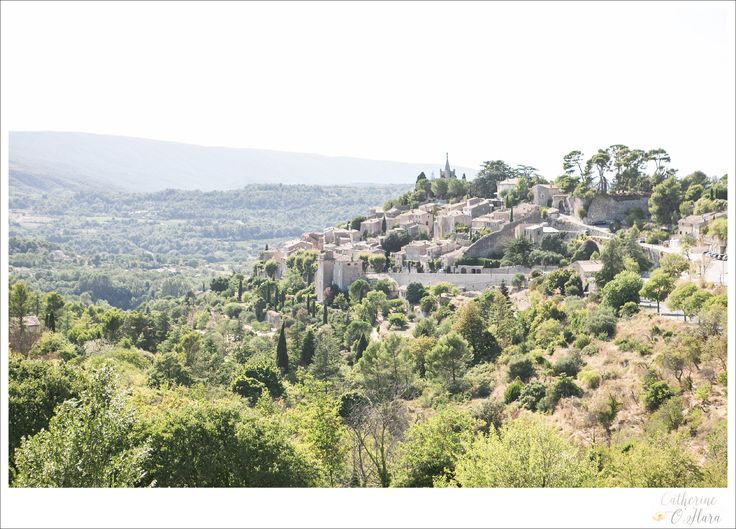 What a stunning view from the ceremony location at a recent wedding in Provence!  www.catherineohara.com  English speaking wedding, elopement, engagement and surprise proposal photographer based in Paris, France