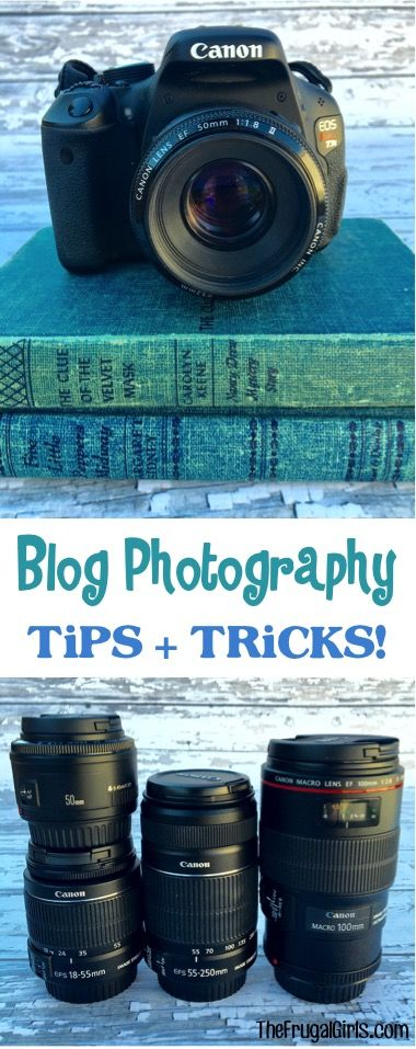 Blog Photography Tips and Tricks! ~ TheFrugalGirls.com ~ take your blog photos to the next level with these insider tips and tricks!