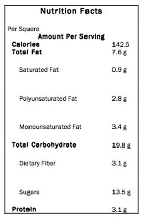Eatmore Fudge Squares: Kalorien und Nährwertangaben – Chocolate Covered Katie