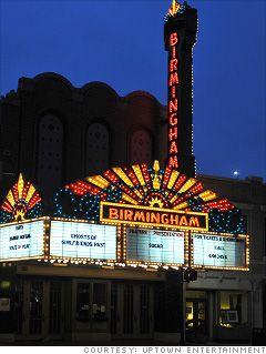 Birmingham, MI movie theatre
