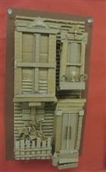7th/8th gr cardboard relief