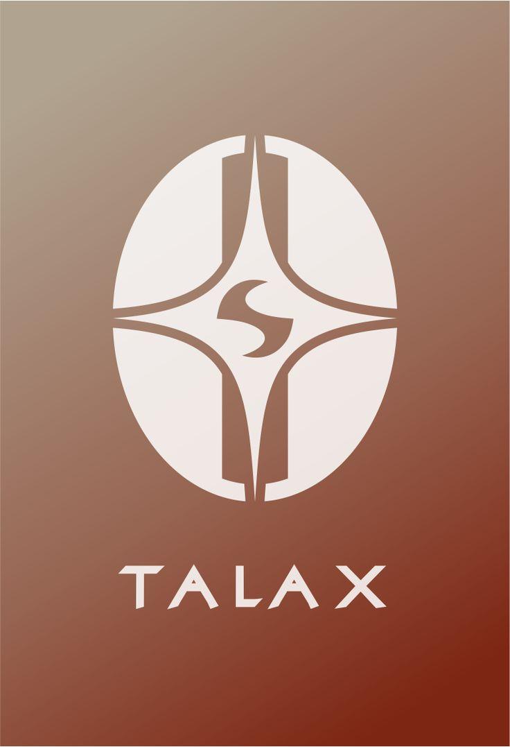 Star Trek Talax Logo Flat Design