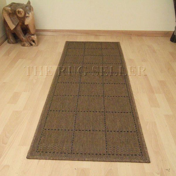 Super Sisalo Anti Slip Kitchen Runners in Brown