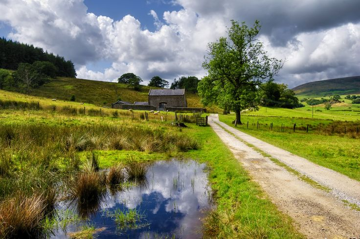 The Forest of Bowland is an AONB and has also been called the Switzerland of England.