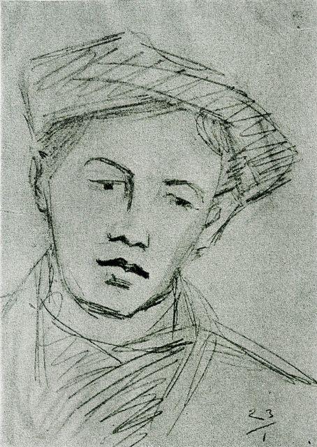 Ivan Agueli Etude Portrait 1814 (Pharyah)
