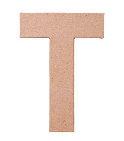 Darice 8'' Paper Mache Letters-1PKDarice 8'' Paper Mache Letters - 1PK,