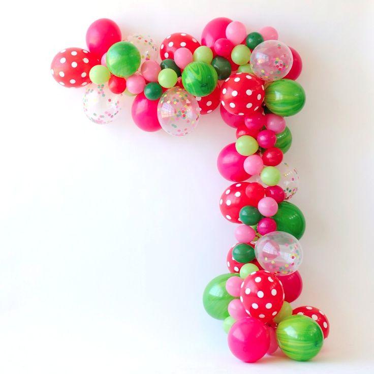 Sweet+Watermelon+Vine+Balloon+Garland+Kit