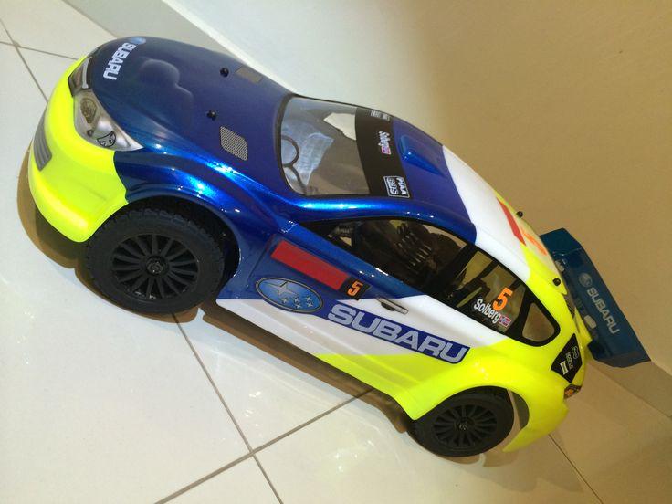 Meu Demon DRX em versão Subaru WRX Rallye
