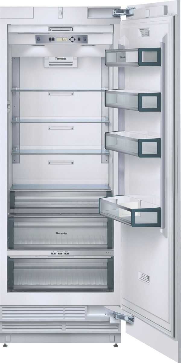 30 Inch Built In Fully Flush Refrigerator Column With