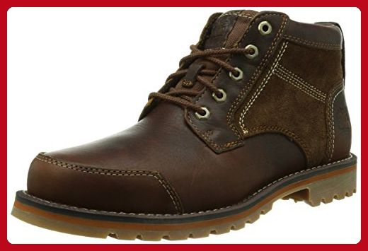 Timberland Men's Boots Larchmont Chukka 9705A Red Brown UK7 Red Brown