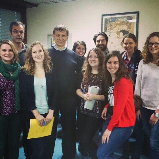 #Francolisi e studenti olandesi di medicina Villa Mafalda 2014