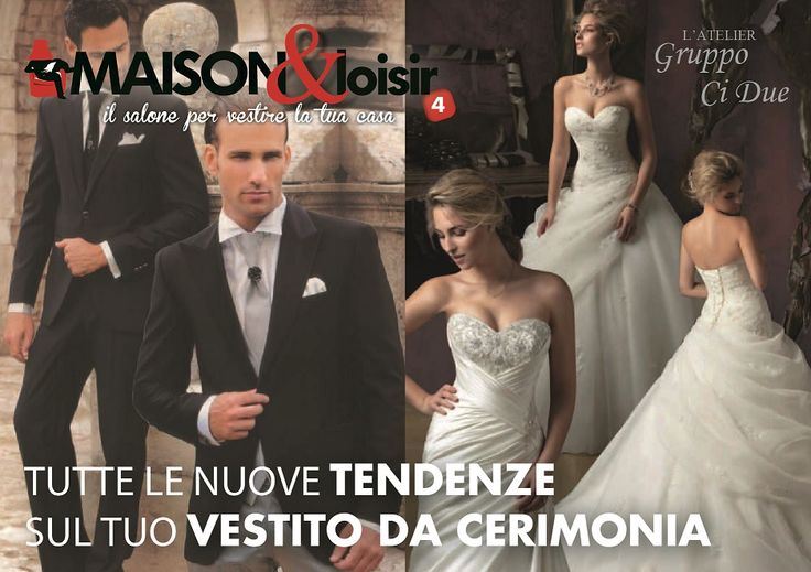 Tutte le nuove tendenze sul tuo vestito da cerimonia! #maisonloisir2015 #salone #expo #abitare #vda #costruire #decorare #arredare #vivere #fiera #wedding #weddingday #weddingplanner #gettingmarried #misposo #matrimonio #mariage #love #weddingtime #weddinginspiration #weddinstyle #weddingidea