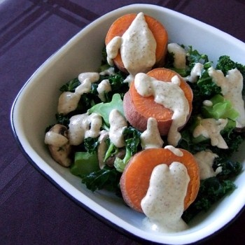 many healthy macrobiotic recipes with fresh  veggies