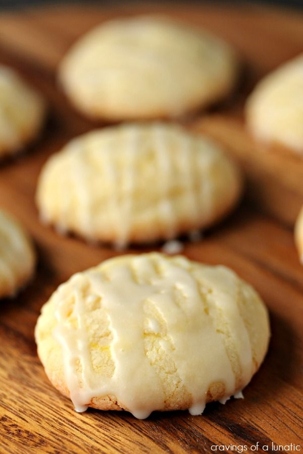 Glazed Lemon Sugar Cookies | Soft and perfectly sweet Glazed Lemon Sugar Cookies. Simple to make, perfect for bake sales and parties. These are a serious crowd pleaser.