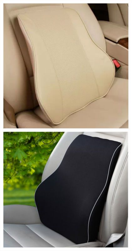 hottest sale memory foam inflatable travel back cushion