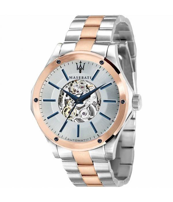 Olvídate del cambio de pila con este reloj Maserati automático, el regalo ideal para los fans de Maserati y para el Día del Padre. Cómpralo ahora y disfruta de un descuento directo del 10%: http://www.todo-relojes.com/detalle.asp?codigo=29954 #relojesMaserati #relojesautomaticos #DiadelPadre