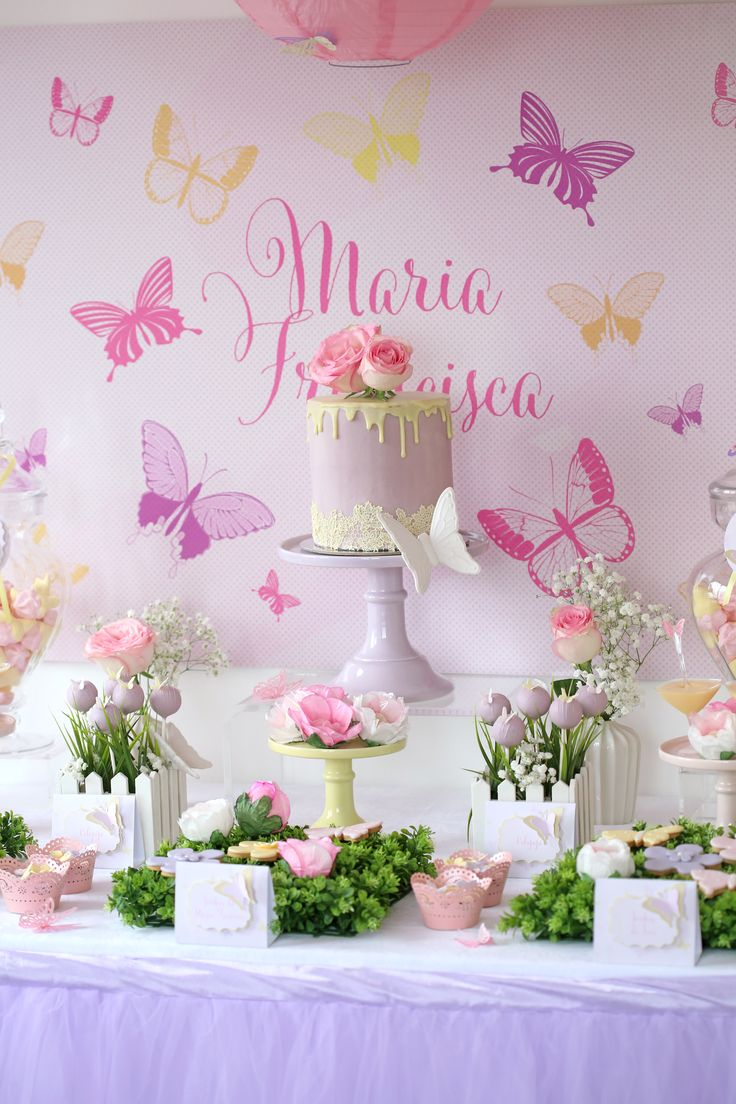 Butterfly Party, summer party, Babka party, spring party, floral butterfly party