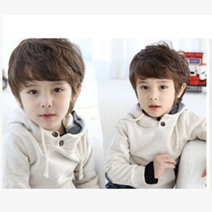 Fashion Natural Brown Black Short Curly Children Wigs Boy Synthetic Hair For Cosplay Party Photos Props-in Synthetic Wigs from Health & Beauty on Aliexpress.com | Alibaba Group