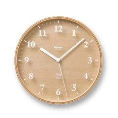 Lemnos Clock via Ank | 2d studio in vorm