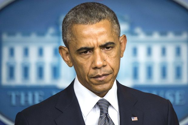 """President Obama today accused President Putin of fomenting the violence in Ukraine which led to the downing of flight MH17, which he denounced as an act of """"outrageous and unspeakable proportions"""". Mr Obama challenged the Russian leader to stop arming separatists and warned there was no time for propaganda or games following the deaths of 298 people on board the Malaysia Airlines passenger plane."""