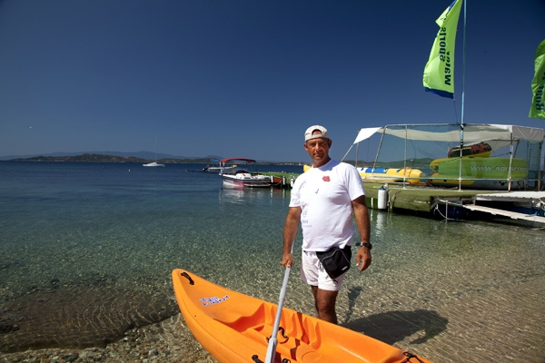 """""""What I enjoy the most is to see people, especially children coming back a year later and say 'Instructor we came back!' and to look at the big smiles on their faces!""""    Konstantinos Bogris, Manager & Owner of the Water Sports Facilities at Eagles Palace 