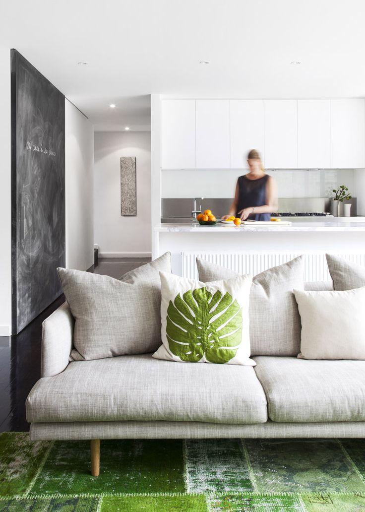 Tv Room Lounge Jardan Nook Sofa Via Est Magazine