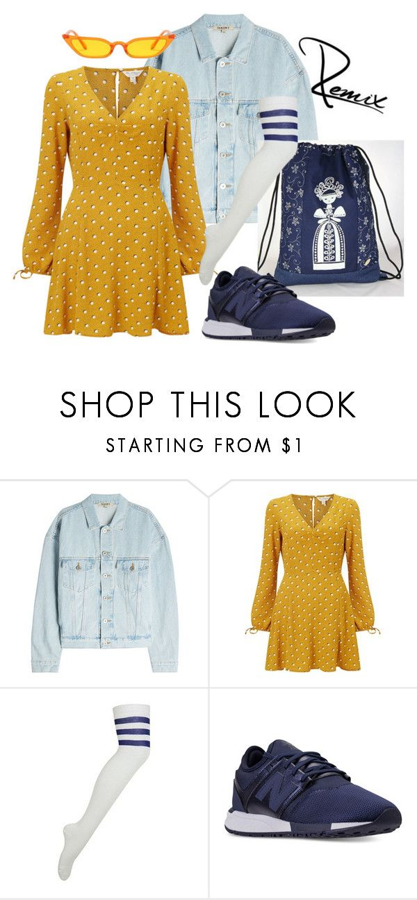 """""""Spring fling"""" by aleva on Polyvore featuring Yeezy by Kanye West, Miss Selfridge and New Balance"""