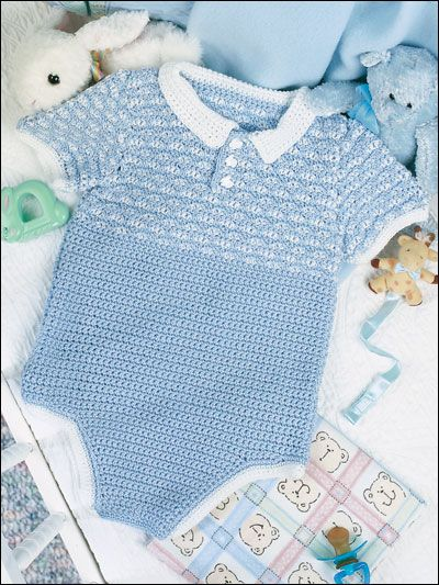 Crocheted Baby Boy Outfits Can Be Hard To Find Not Any More This Darling Is Simple Yet Stylish For The Newest Member Of You